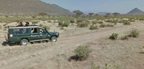 Google Street View Kenyan Safari
