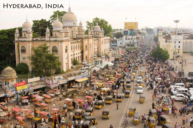 Hyderabad India  City new picture : India: Hyderabad India City Center